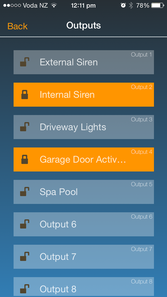 Security Alarm real time smart app